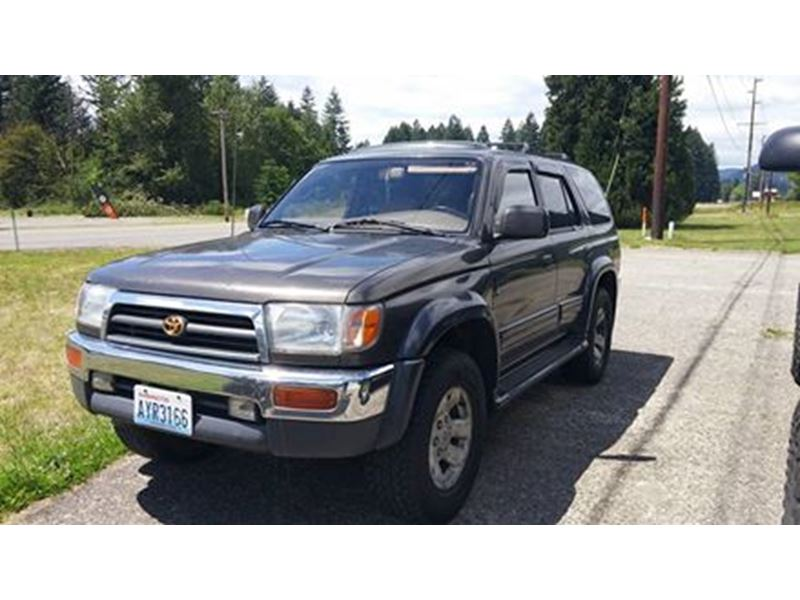 1997 toyota 4runner private car sale in randle wa 98377. Black Bedroom Furniture Sets. Home Design Ideas