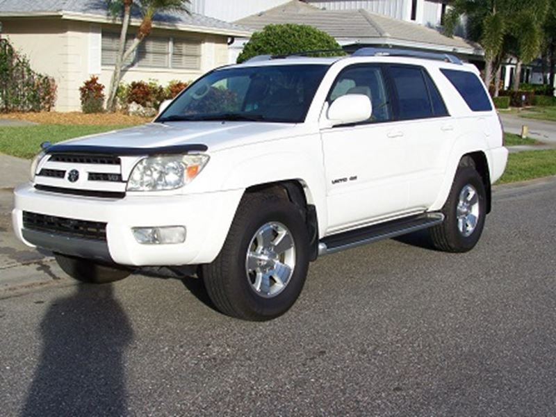 used 2003 toyota 4runner for sale by owner in chicago il 60701. Black Bedroom Furniture Sets. Home Design Ideas