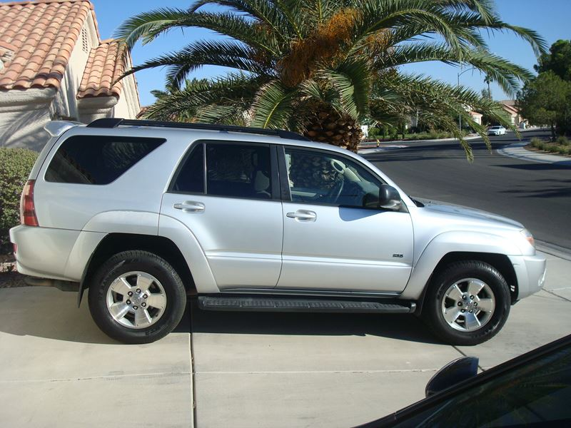 used 2004 toyota 4runner private car sale in las vegas nv 89158. Black Bedroom Furniture Sets. Home Design Ideas