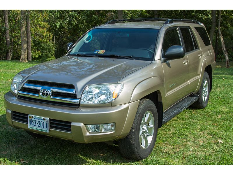 used 2005 toyota 4runner for sale by owner in arlington va 22246. Black Bedroom Furniture Sets. Home Design Ideas