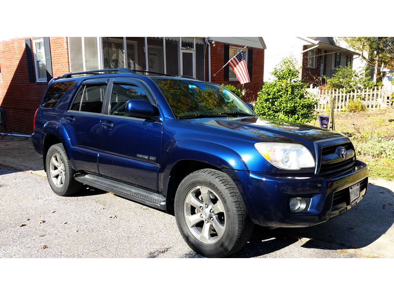 2006 toyota 4runner for sale by owner in parkville md 21234. Black Bedroom Furniture Sets. Home Design Ideas
