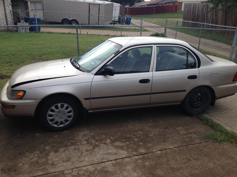 used 1995 toyota corolla for sale by owner in the colony tx 75056. Black Bedroom Furniture Sets. Home Design Ideas