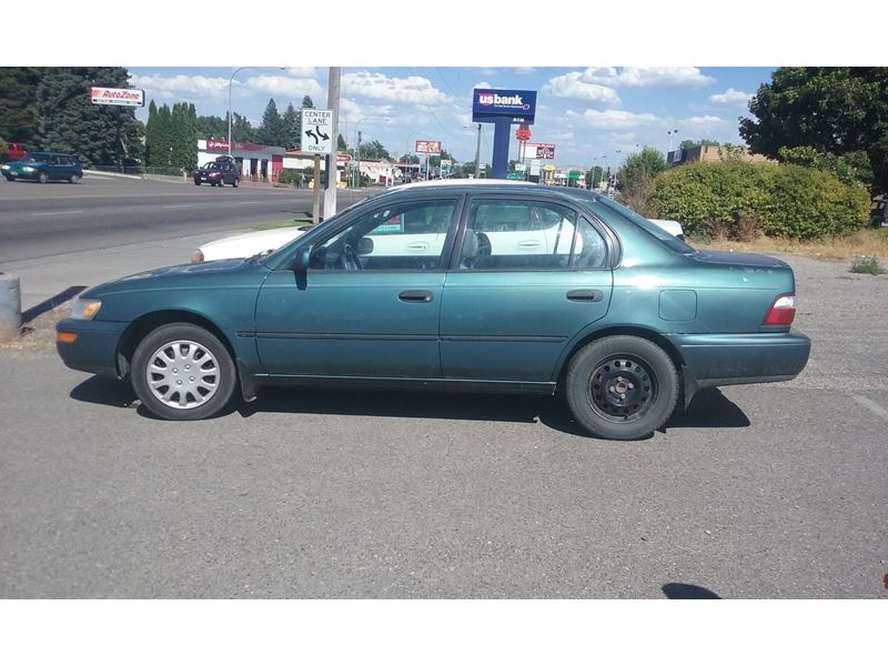 1996 toyota corolla for sale by private owner in idaho falls id 83405. Black Bedroom Furniture Sets. Home Design Ideas
