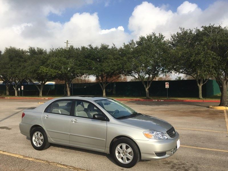 used 2004 toyota corolla for sale by owner in houston tx 77299. Black Bedroom Furniture Sets. Home Design Ideas