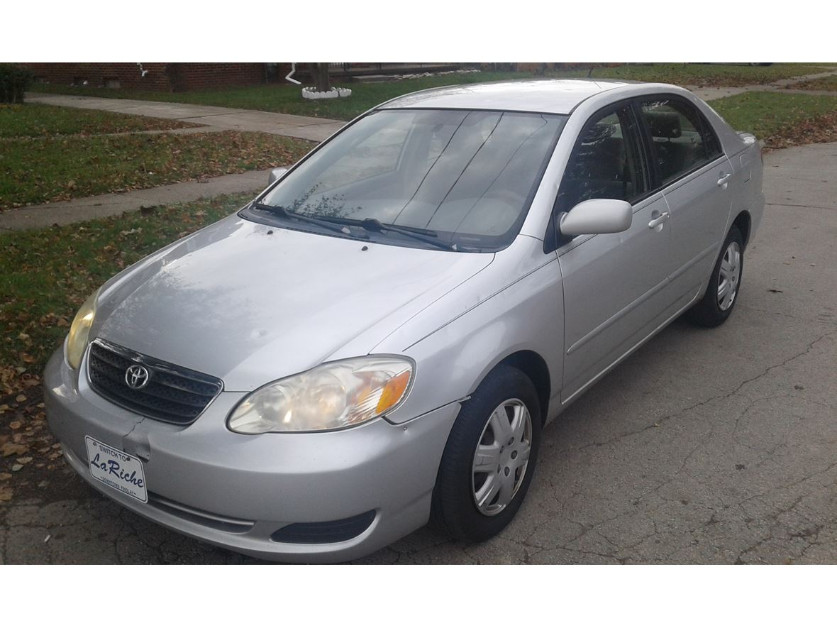 2006 toyota corolla for sale by owner in toledo oh 43607. Black Bedroom Furniture Sets. Home Design Ideas