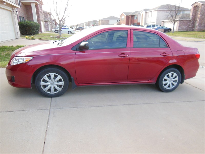 2009 toyota corolla for sale by owner in fort worth tx 76198. Black Bedroom Furniture Sets. Home Design Ideas