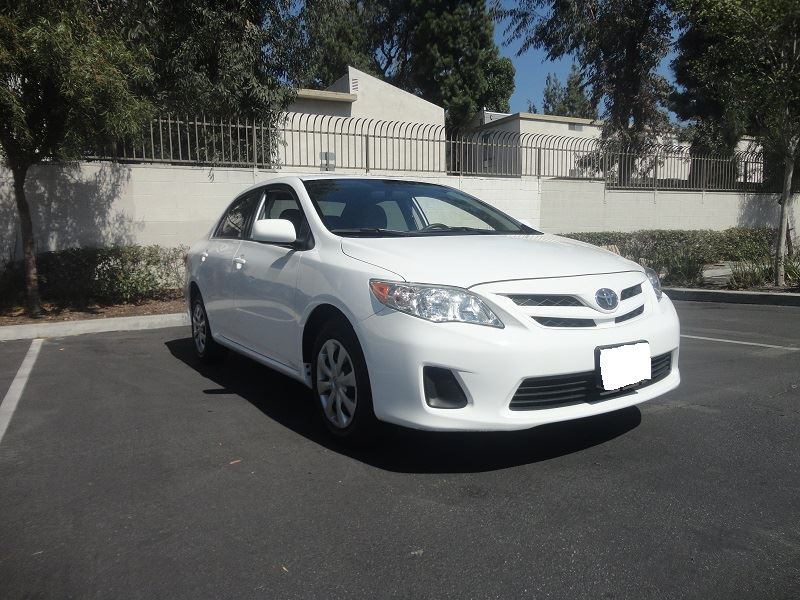 2011 toyota corolla for sale by owner in covina ca 91722. Black Bedroom Furniture Sets. Home Design Ideas