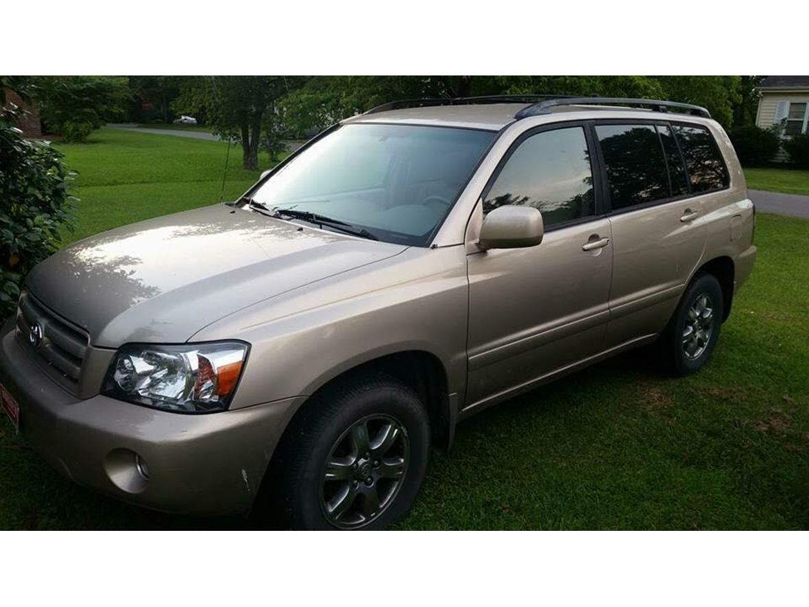2005 toyota highlander for sale by owner in windsor nc 27983. Black Bedroom Furniture Sets. Home Design Ideas