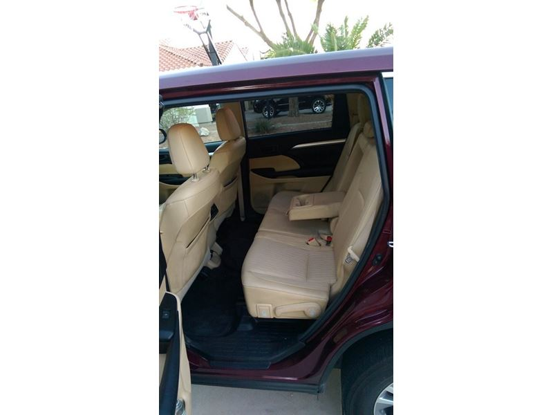 used 2015 toyota highlander for sale by owner in peoria az 85385. Black Bedroom Furniture Sets. Home Design Ideas