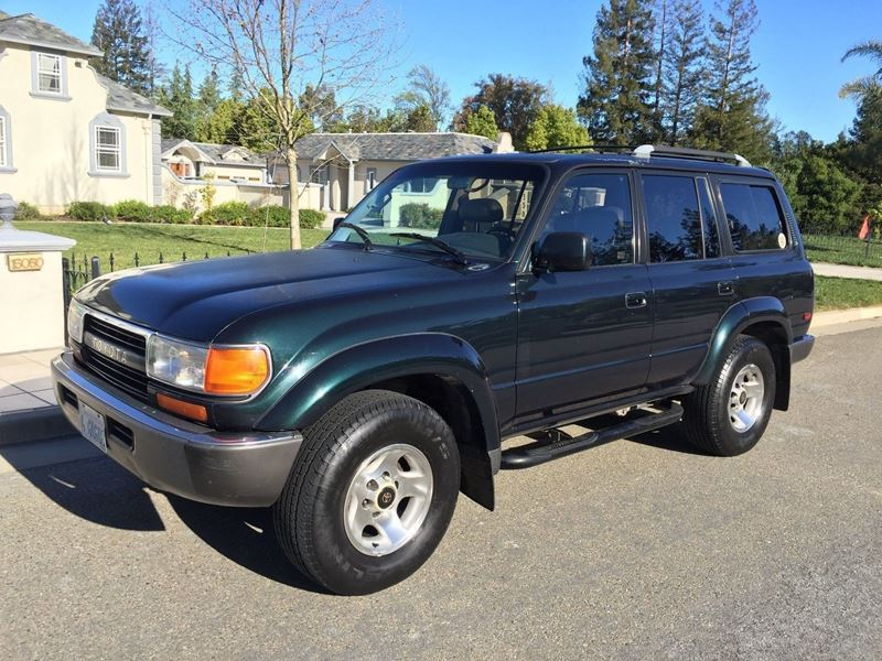 1994 toyota land cruiser for sale by private owner in los angeles ca 90015. Black Bedroom Furniture Sets. Home Design Ideas