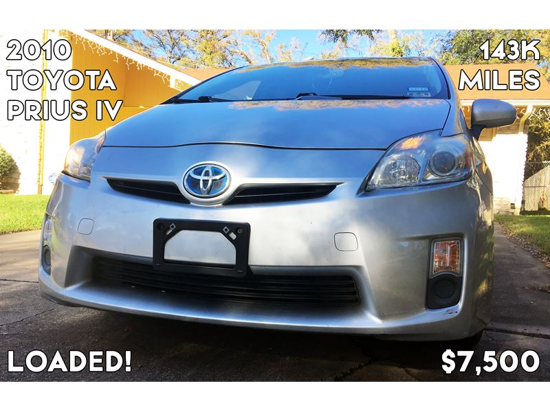 2010 toyota prius iv for sale by owner in austin tx 78785. Black Bedroom Furniture Sets. Home Design Ideas
