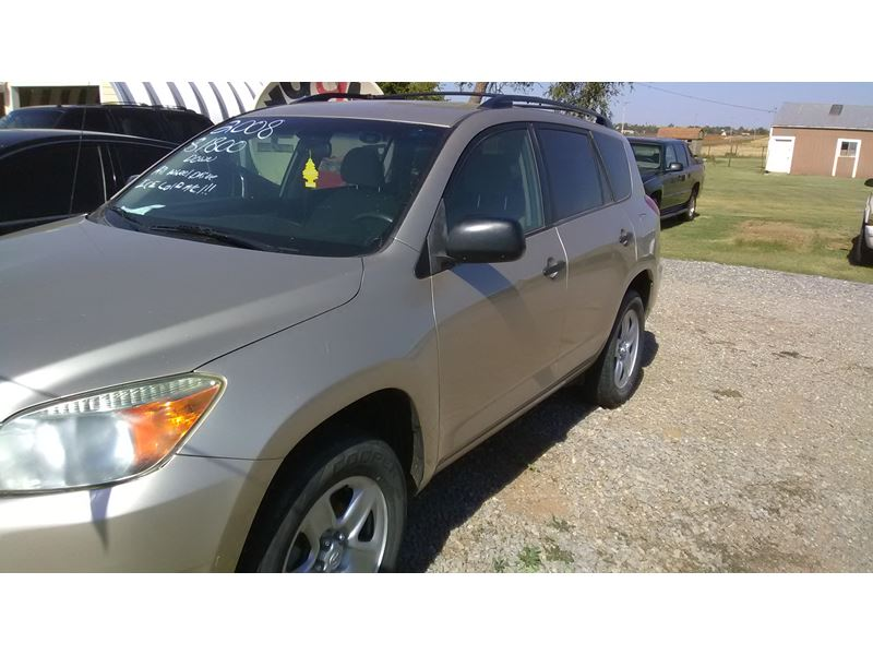 used 2008 toyota rav4 for sale by owner in hobart ok 73651. Black Bedroom Furniture Sets. Home Design Ideas