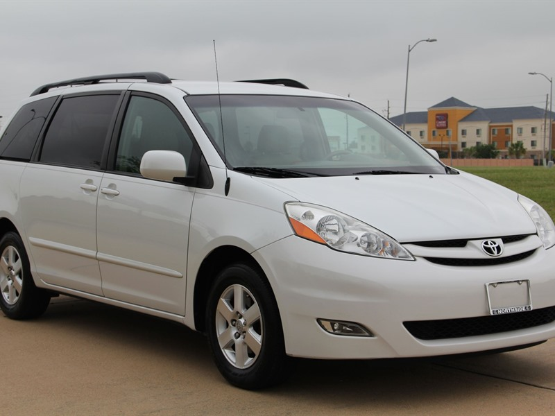 2008 toyota sienna xle for sale by owner in houston tx 77083. Black Bedroom Furniture Sets. Home Design Ideas