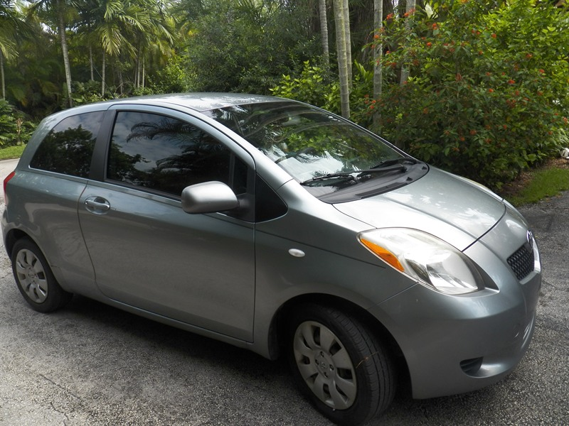 2007 toyota yaris for sale by owner in miami fl 33143. Black Bedroom Furniture Sets. Home Design Ideas