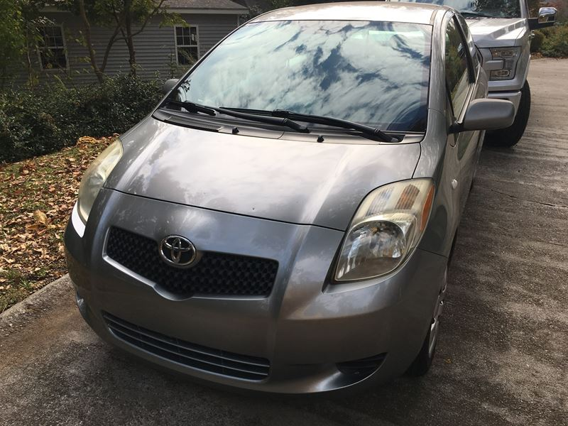 2007 toyota yaris for sale by owner in augusta ga 30907. Black Bedroom Furniture Sets. Home Design Ideas