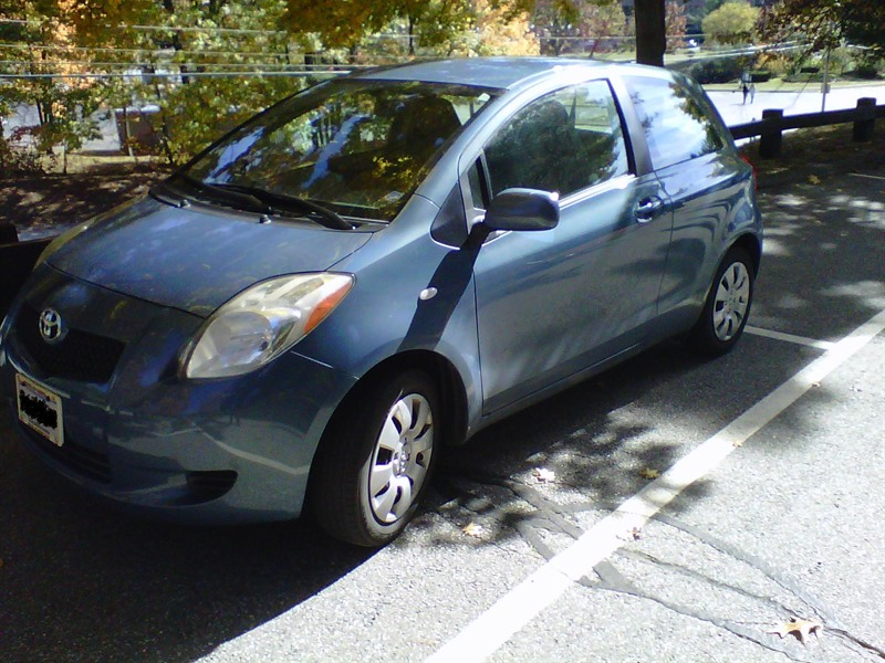 2008 toyota yaris for sale by owner in chelmsford ma 01824. Black Bedroom Furniture Sets. Home Design Ideas