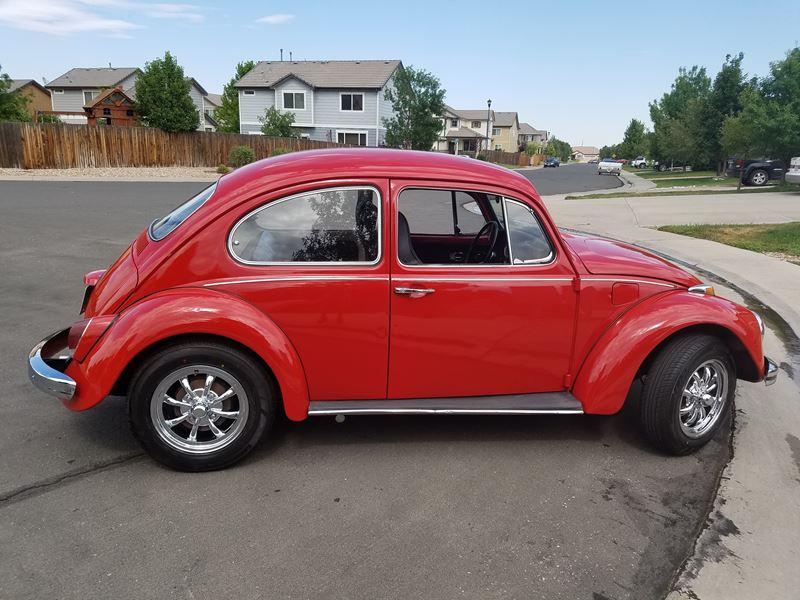 1968 volkswagen beetle antique car thornton co 80241. Black Bedroom Furniture Sets. Home Design Ideas