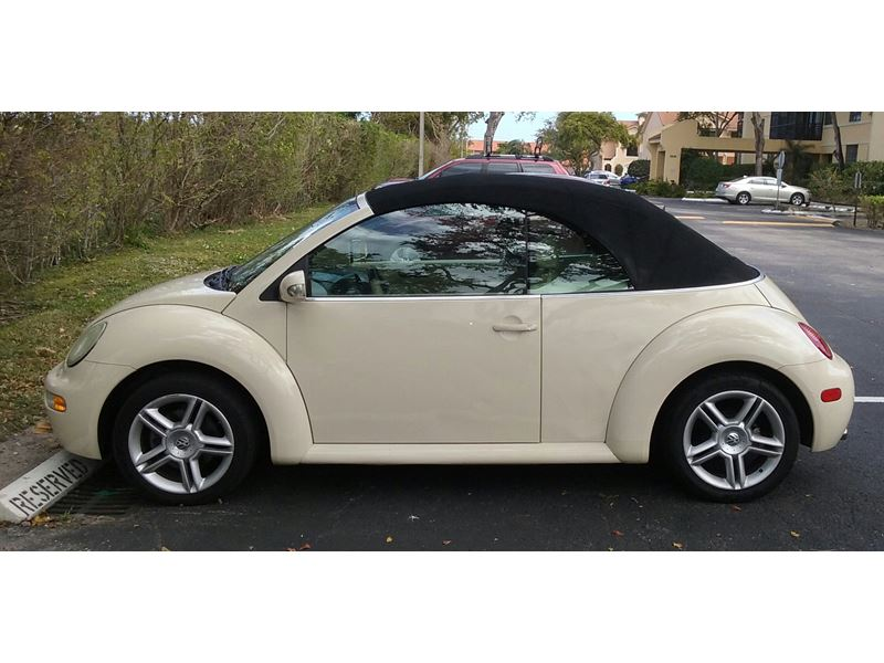 2005 volkswagen beetle convertible by owner in miami fl 33191. Black Bedroom Furniture Sets. Home Design Ideas