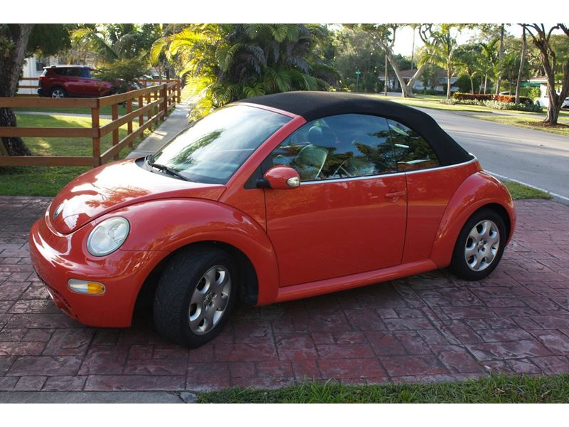 2003 volkswagen new beetle by owner in colorado springs co 80977. Black Bedroom Furniture Sets. Home Design Ideas