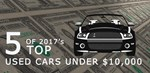 Top Used Cars under $10,000