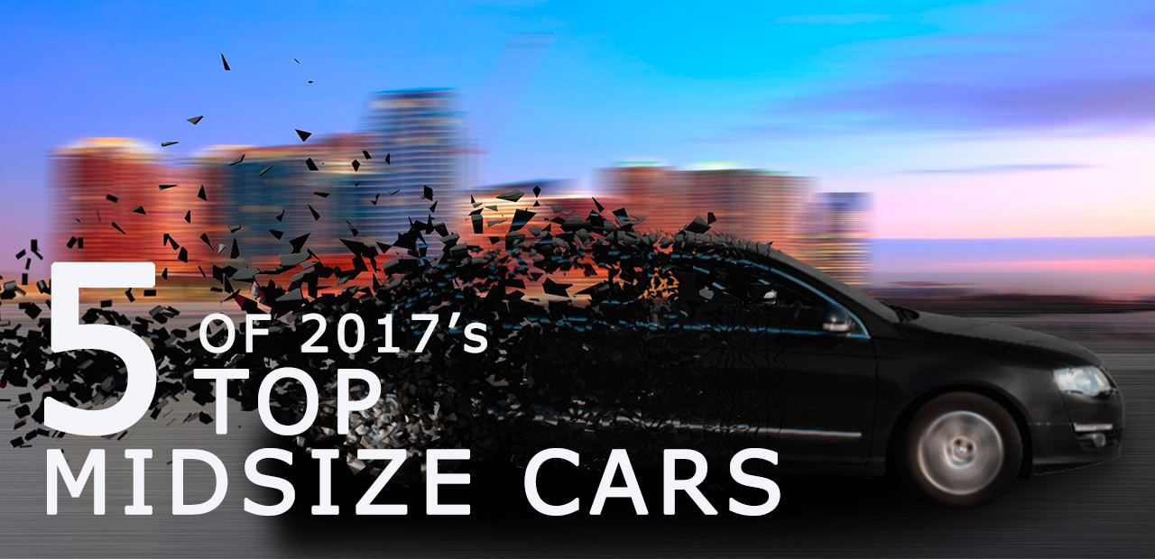 top midsize cars of 2017