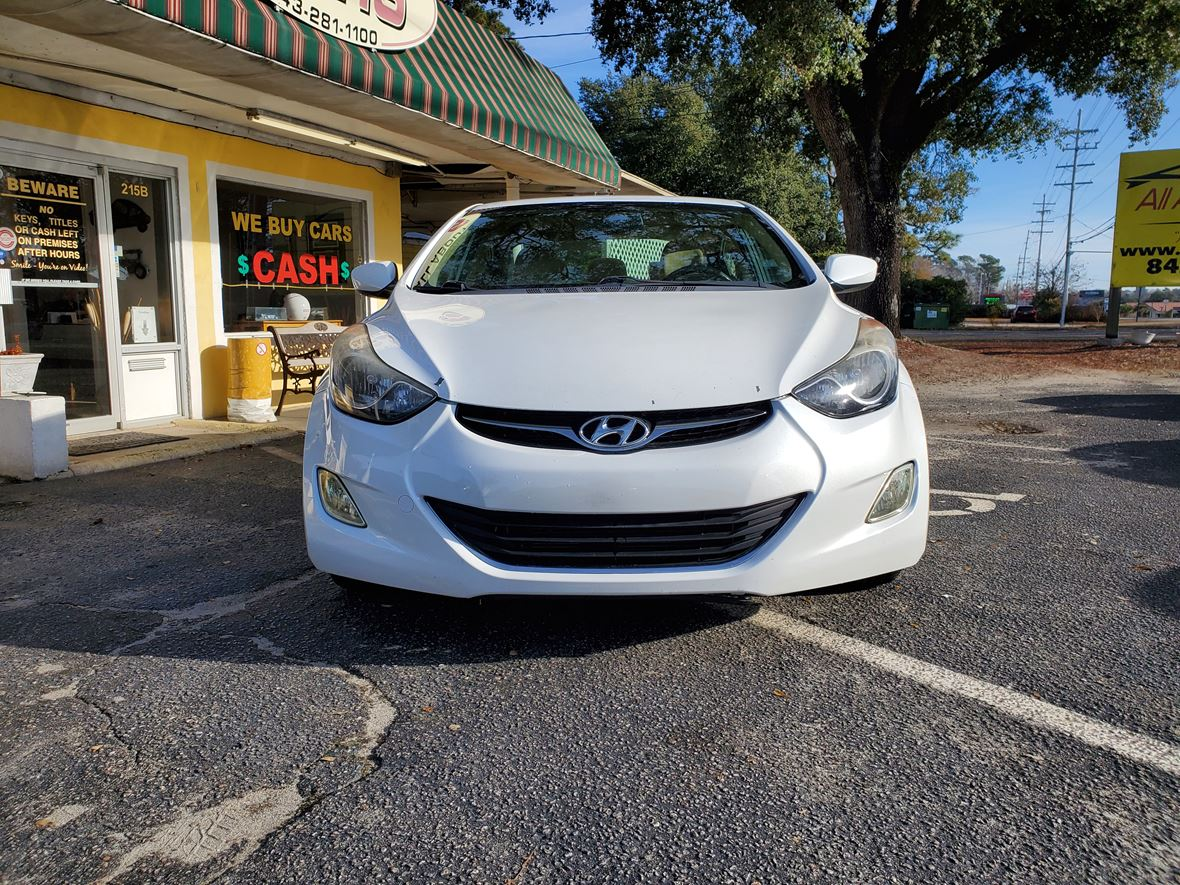 2013 Hyundai Elantra for sale by owner in Little River