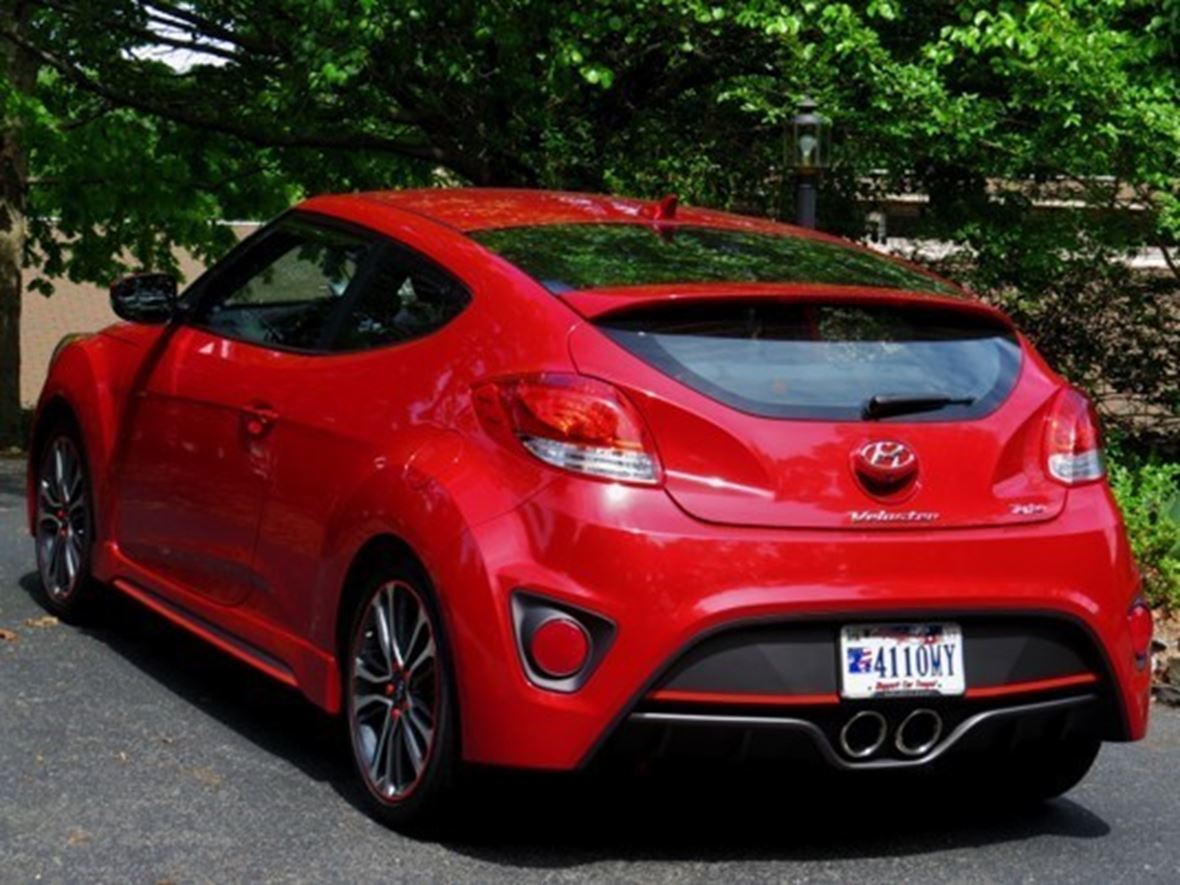 2016 Hyundai Veloster Turbo for sale by owner in Huddleston