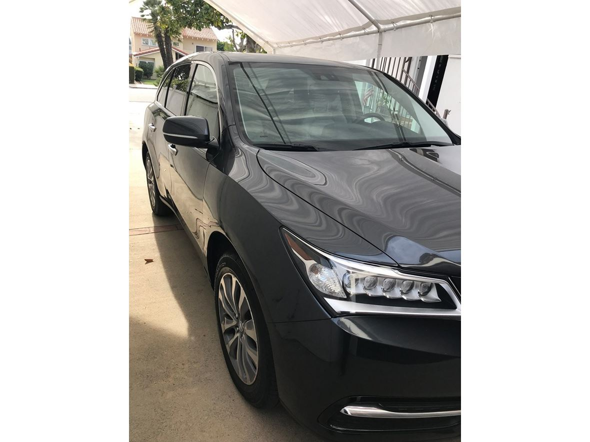 2015 acura mdx for sale by owner in santa monica ca 90403. Black Bedroom Furniture Sets. Home Design Ideas