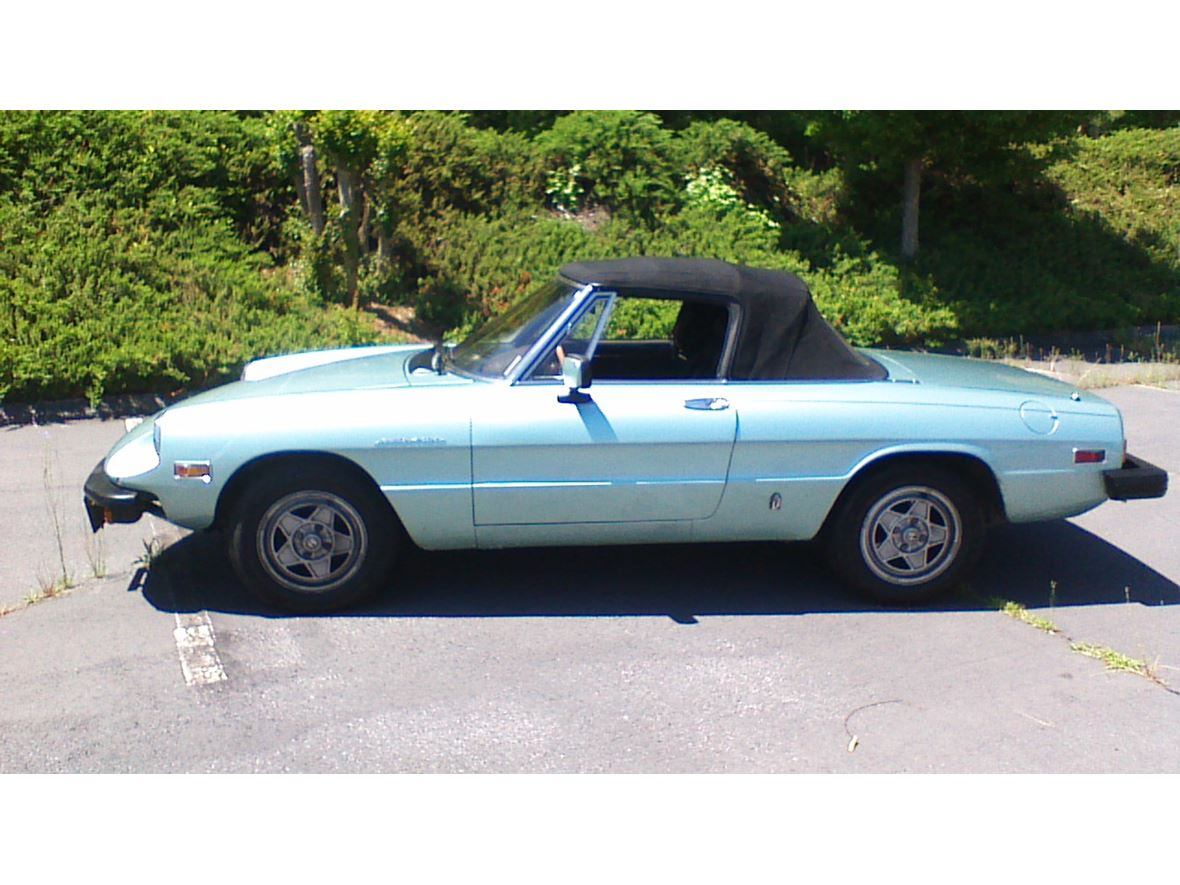 1982 Alfa Romeo Spider Veloce  for sale by owner in Mableton