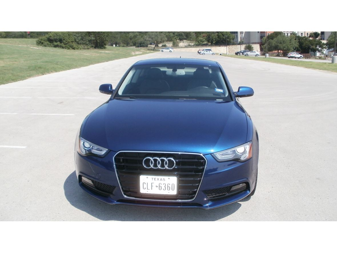 2014 audi a5 for sale by owner in san antonio tx 78255. Black Bedroom Furniture Sets. Home Design Ideas