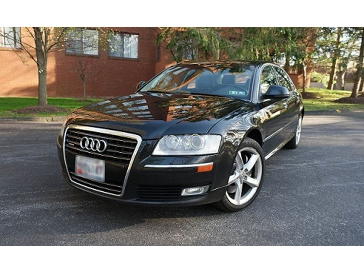 2009 audi a8 for sale by owner in baltimore md 21297. Black Bedroom Furniture Sets. Home Design Ideas