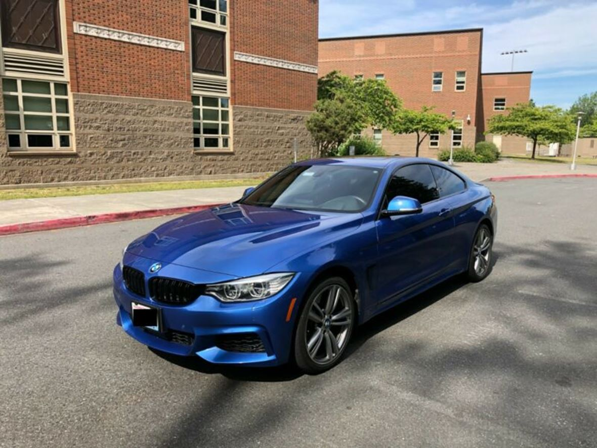 2014 BMW 4-Series for sale by owner in Seattle