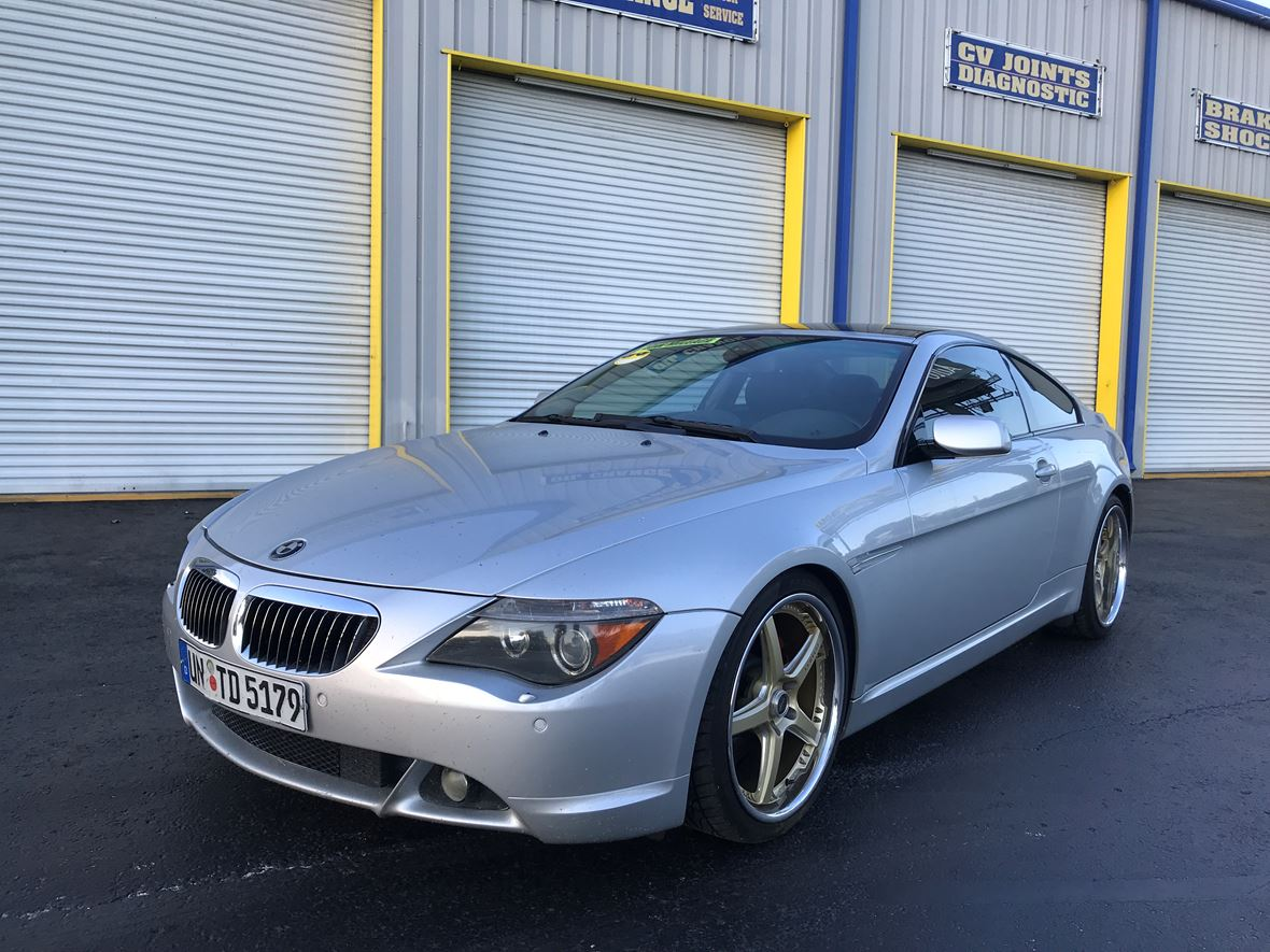 6 Series Gran Coupe >> 2005 Bmw 6 Series Gran Coupe For Sale By Owner In Tampa Fl 33612 8 400