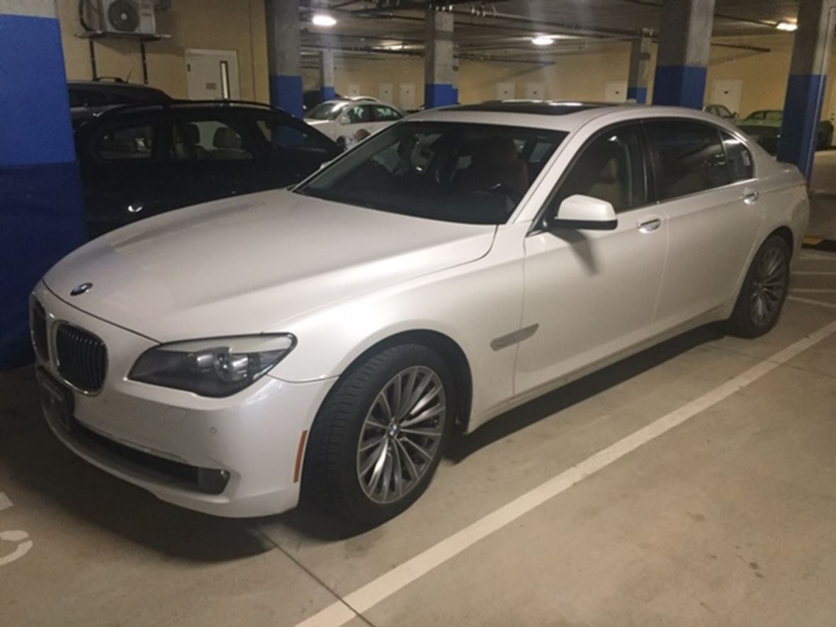 2012 BMW 7 Series for sale by owner in Charlotte