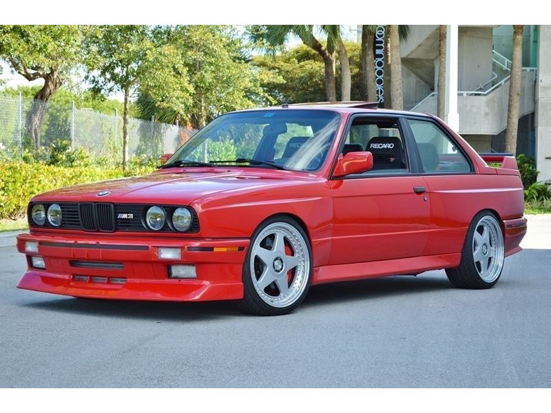 1988 Bmw M3 E30 For Sale By Owner In Los Angeles Ca 90021 22 500