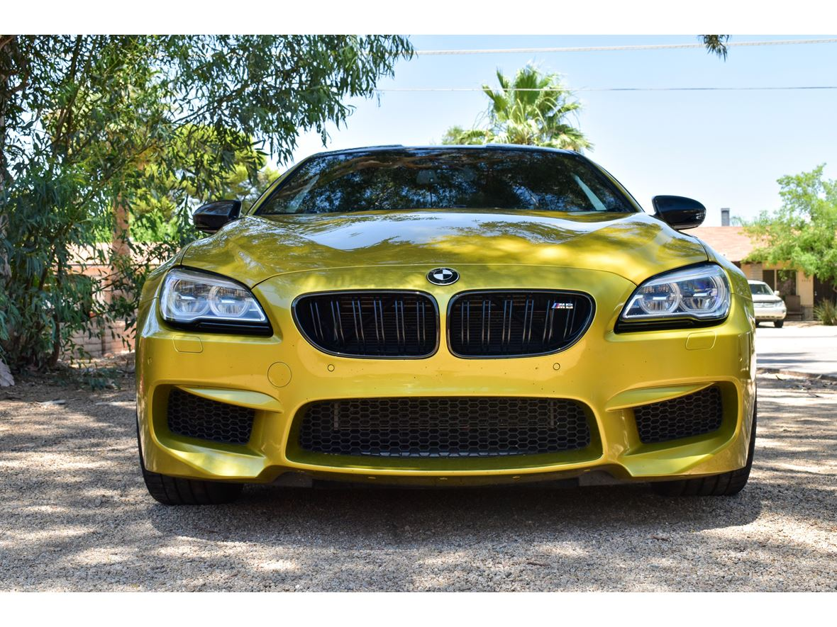 2016 BMW M6 for sale by owner in Scottsdale