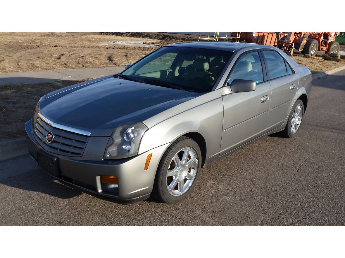 2005 cadillac cts private car sale in wichita ks 67203. Black Bedroom Furniture Sets. Home Design Ideas