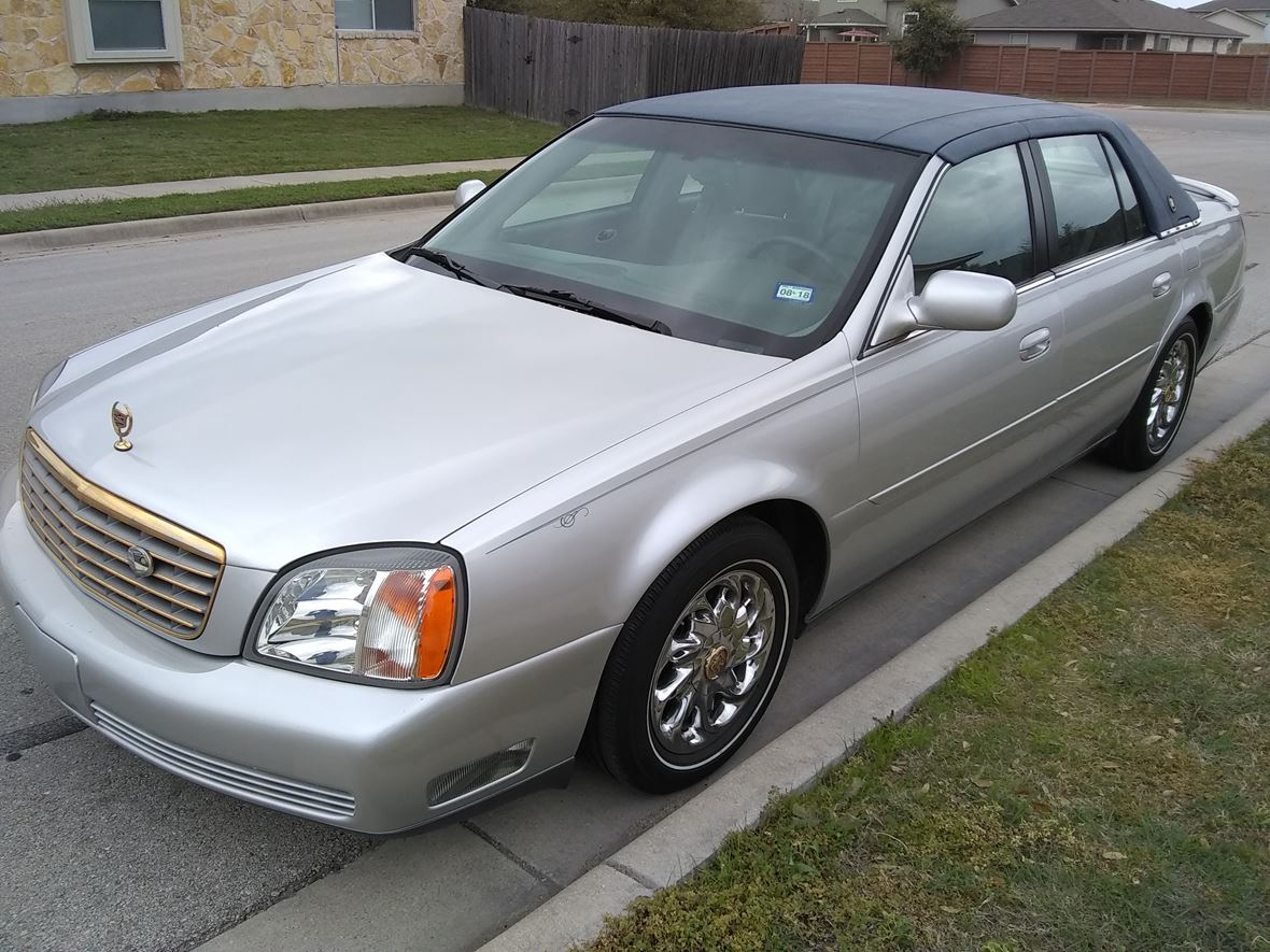 2002 Cadillac Deville Vogue Edition For Sale By Owner In Manor Tx 78653 6 200