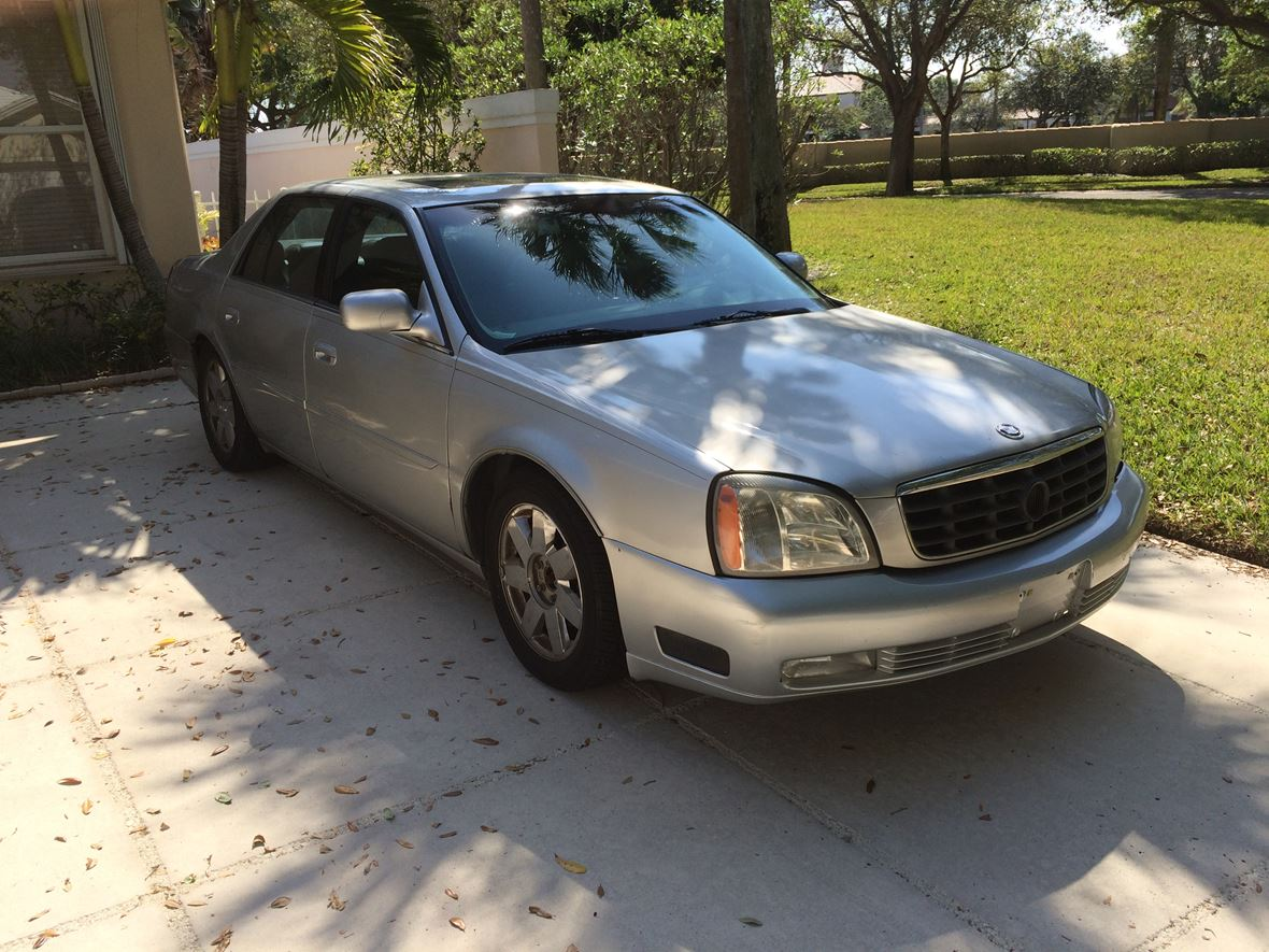 2004 cadillac dts private car sale in west palm beach fl 33409
