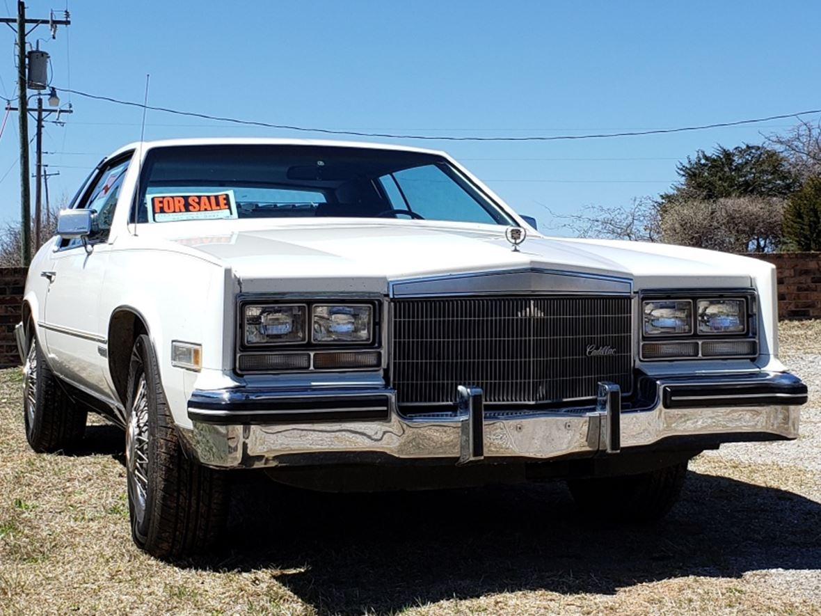 1983 cadillac eldorado classic car fort cobb ok 73038 1983 cadillac eldorado for sale by owner in fort cobb ok 73038 3 000