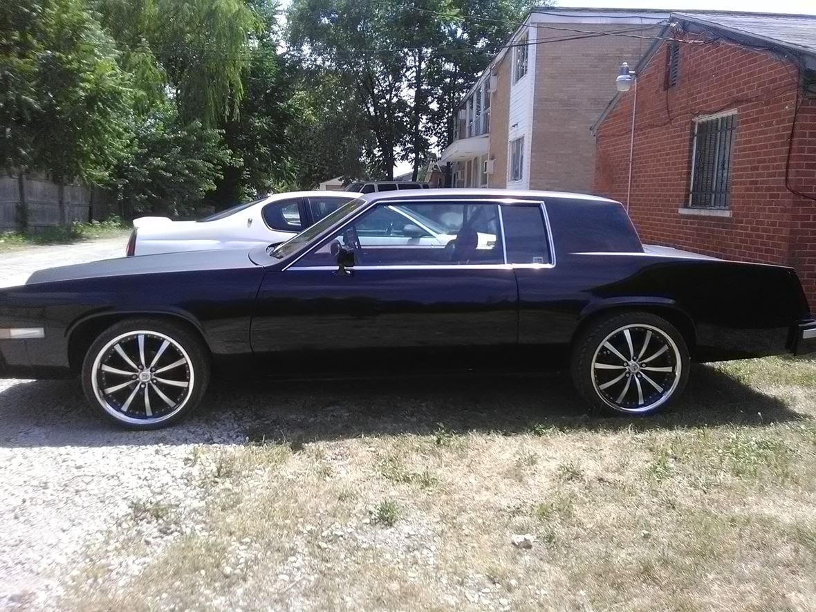 1983 cadillac eldorado classic car detroit mi 48238 1983 cadillac eldorado for sale by owner in detroit mi 48238 3 800
