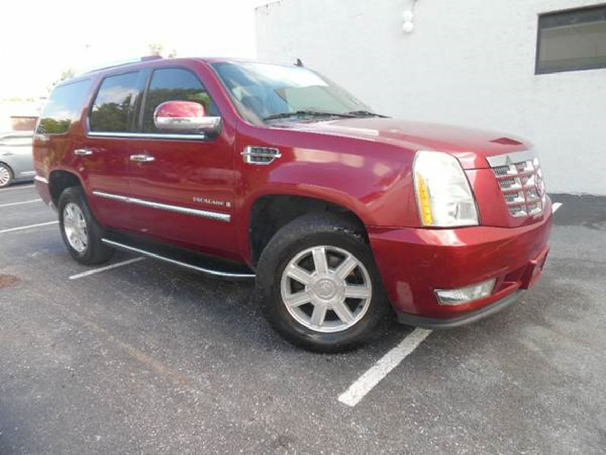 2008 Cadillac Escalade for sale by owner in Miami