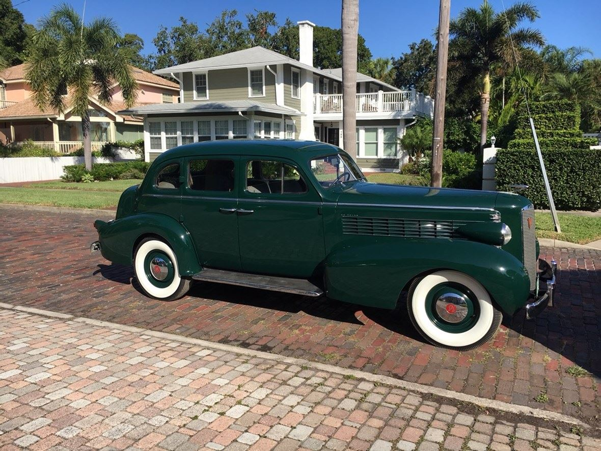 White Wall Tires For Sale >> 1937 Cadillac LaSalle - Antique Car - Saint Petersburg, FL ...