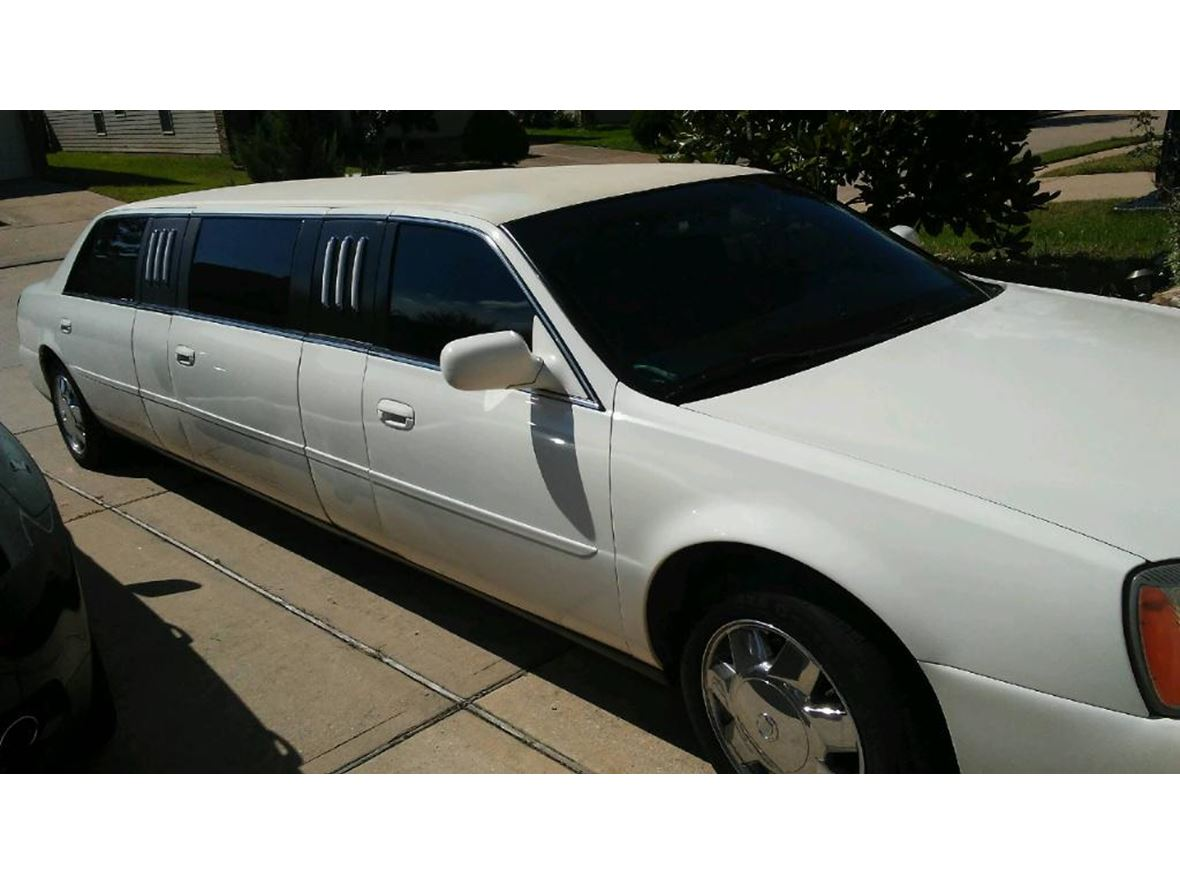 Limousine For Sale >> 2004 Cadillac Limousine For Sale By Owner In Katy Tx 77449 8 875