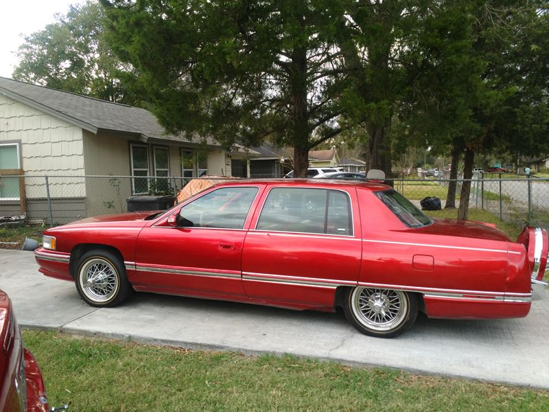 Cars For Sale By Owner In Houston Tx Best Car Finder: 1995 Cadillac Sedan DeVille Sale By Owner In Houston, TX 77299