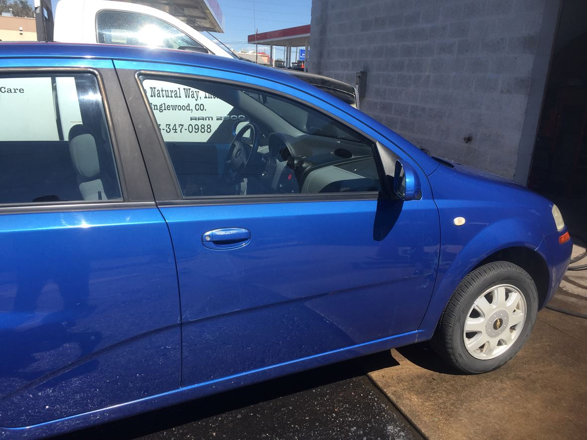 2005 Chevrolet Aveo for sale by owner in Englewood