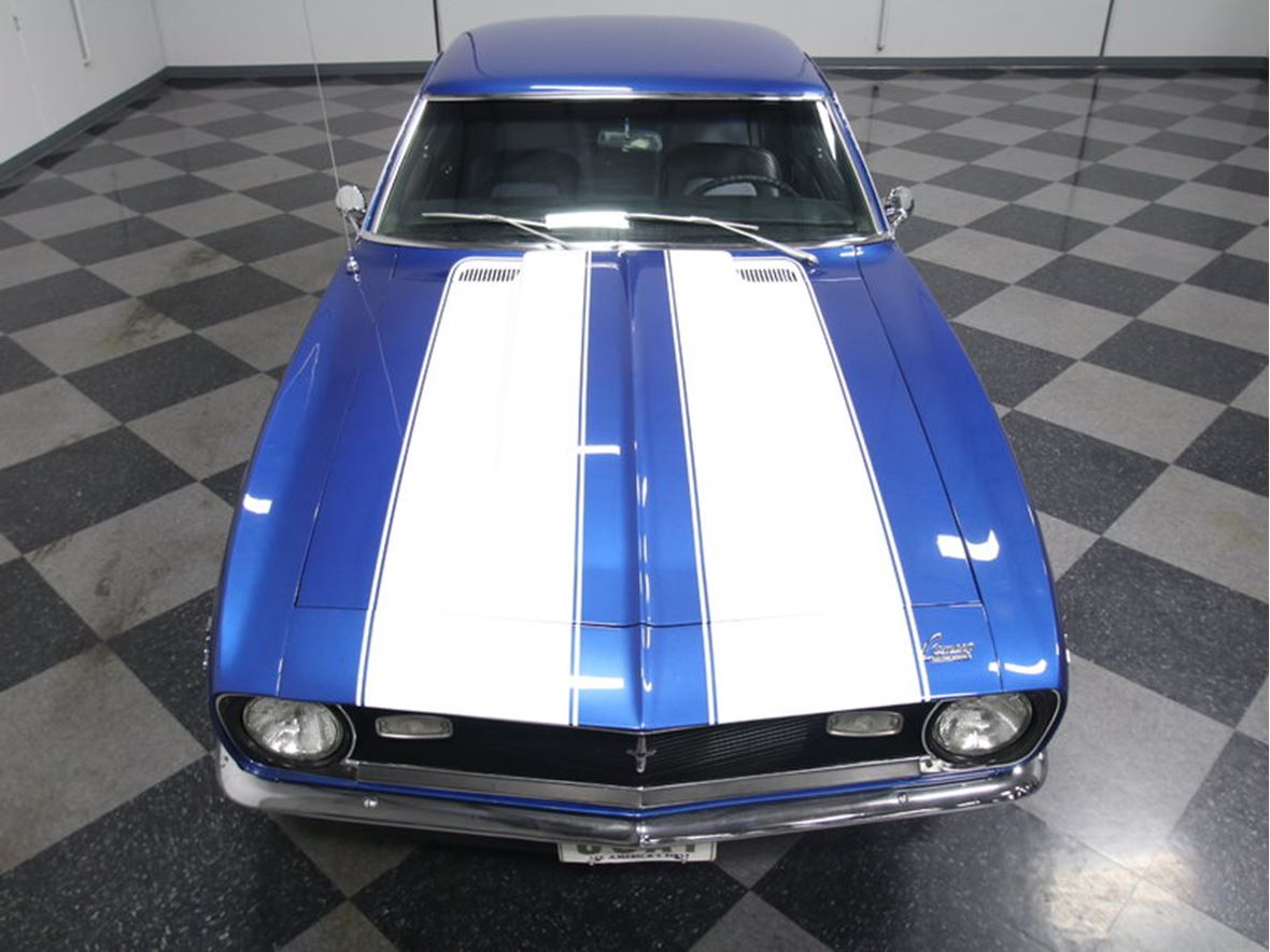 1968 Chevrolet Camaro Antique Car Lewes De 19958 Blue For Sale By Owner In