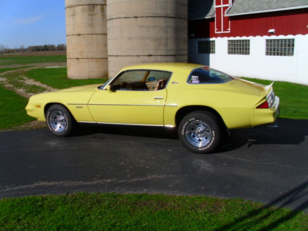 1978 Chevrolet Camaro for Sale by Owner in Fond Du Lac, WI 54937 - $10,000
