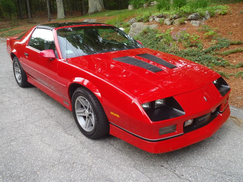 1986 Chevrolet Camaro for sale by owner in Worcester