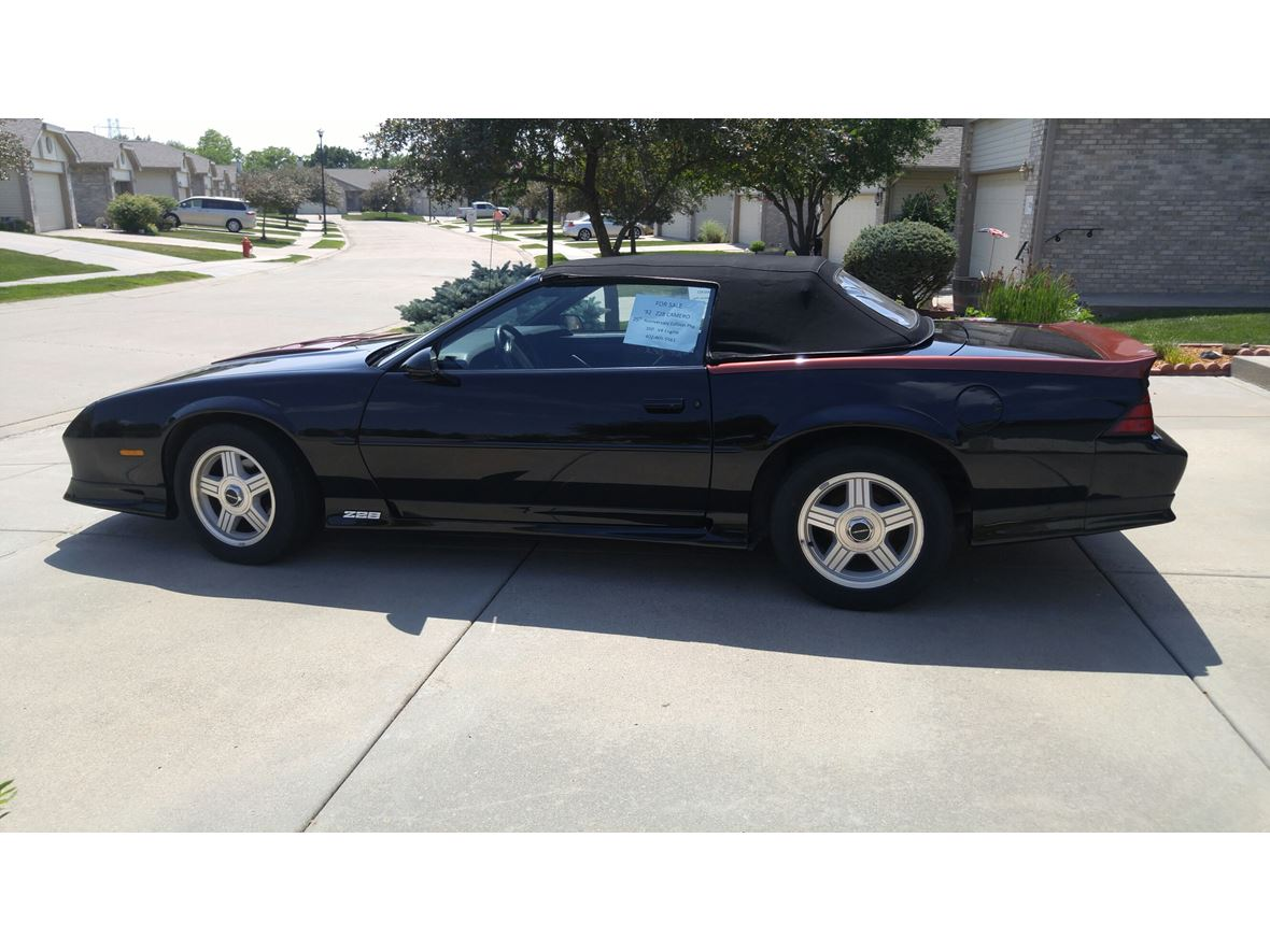 1992 Chevrolet Camaro Z28 for sale by owner in Lincoln